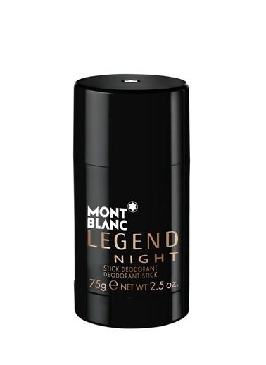 Mont Blanc Mont Blanc Legend Night Erkek Deostick 75 gr Renksiz